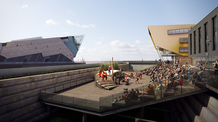 Stage @TheDock artist's impression little