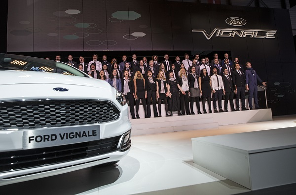 Images showing the Ford stand and conference at the Geneva Motor Show in Switzerland March 1, 2016.