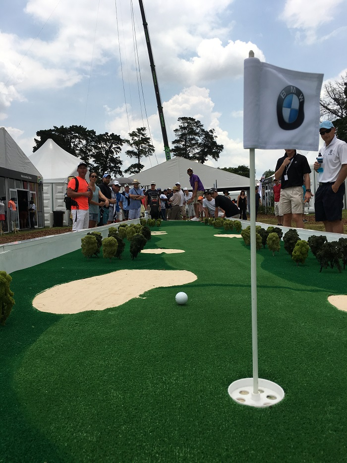 SA Open BMW village 2 little