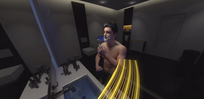 gillette BEcause VR