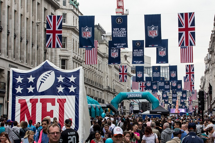 NFL-on-Regent-St little