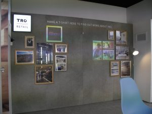 TRO Retail projection wall little