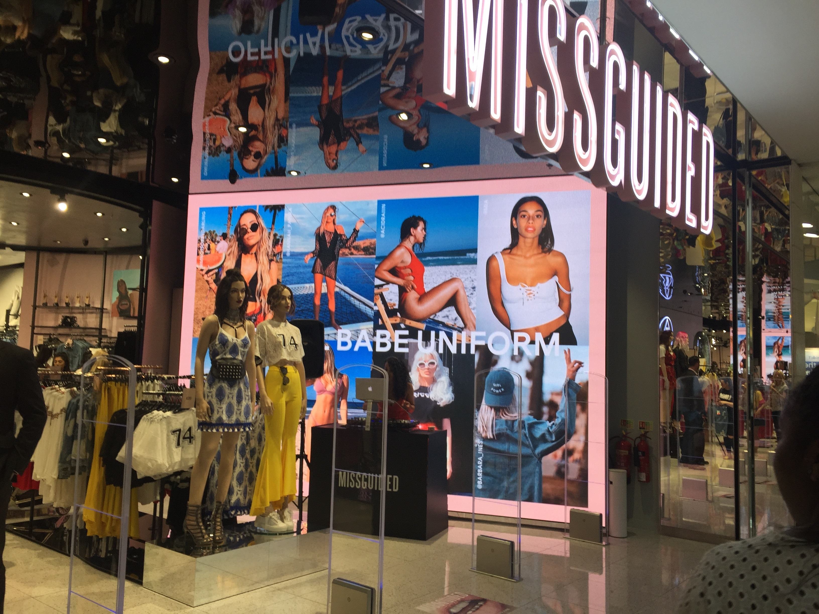 Smart LED large LED wall for Missguided[270538]