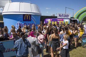 McDonalds Vfest
