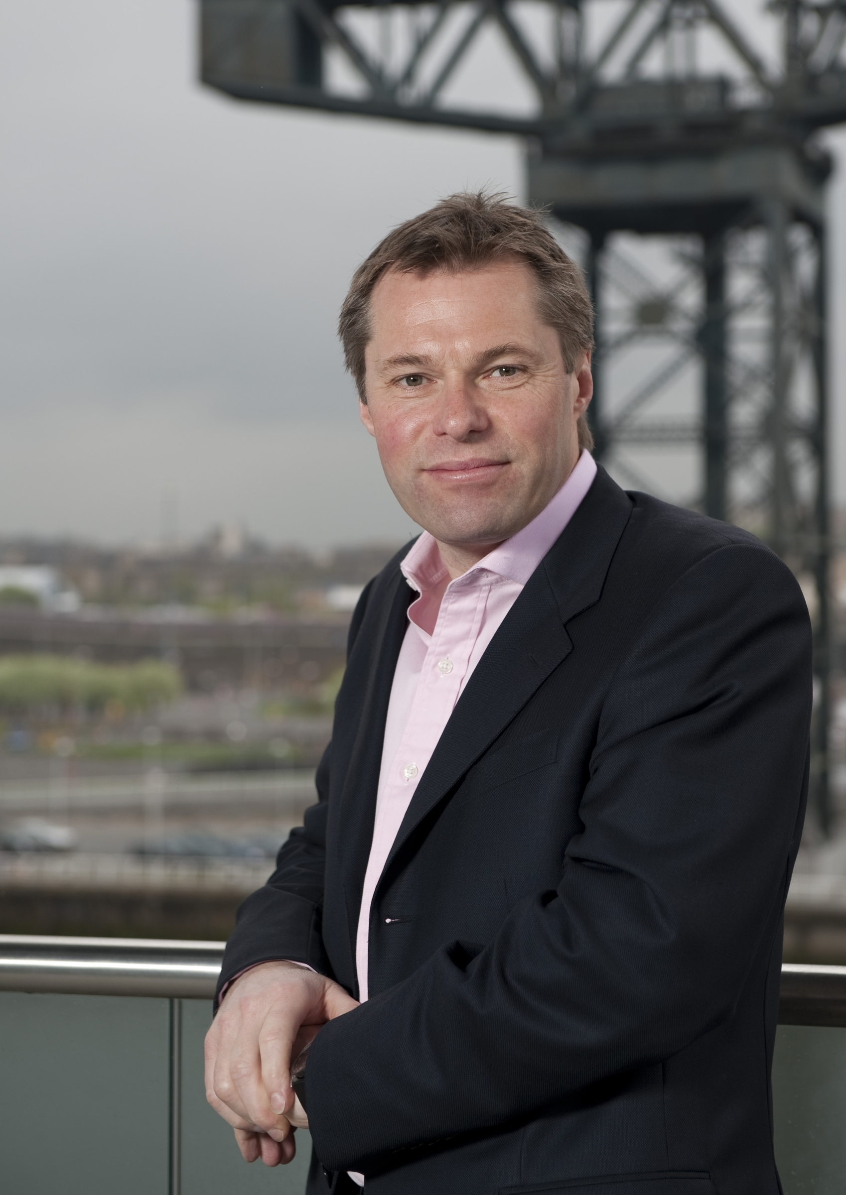 STV Ltd contact press office 01413003830.Pacific Quay Glasgow G51 1PQ.Publicity images: 21.04.09.: STV Group PLC CEO Rob Woodward