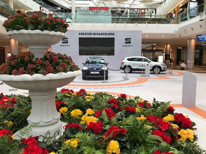 Springtime in Barcelona at Westfield London copy 2