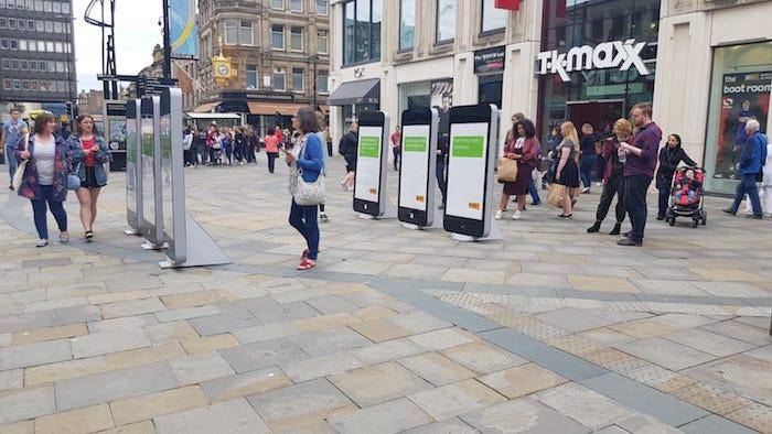 iPhones No Look Northumberland Street copy