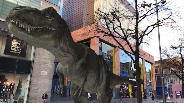 Jurassic Invasion - Liverpool ONE copy
