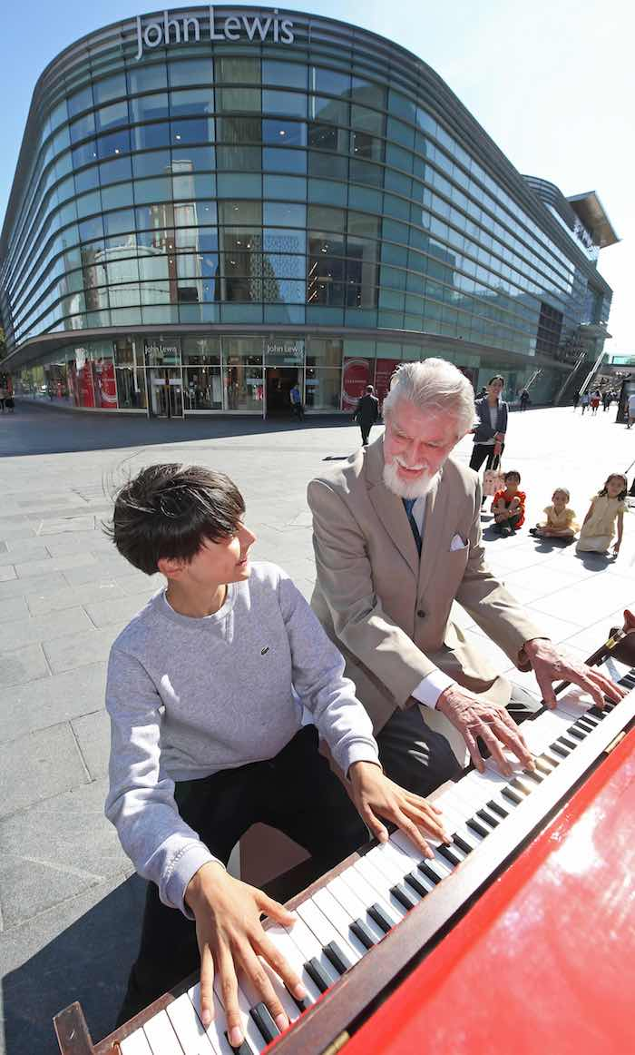 TICKLE THE IVORIES PIANO FESTIVAL RETURNS TO LIVERPOOL ONE Images by Gareth Jones