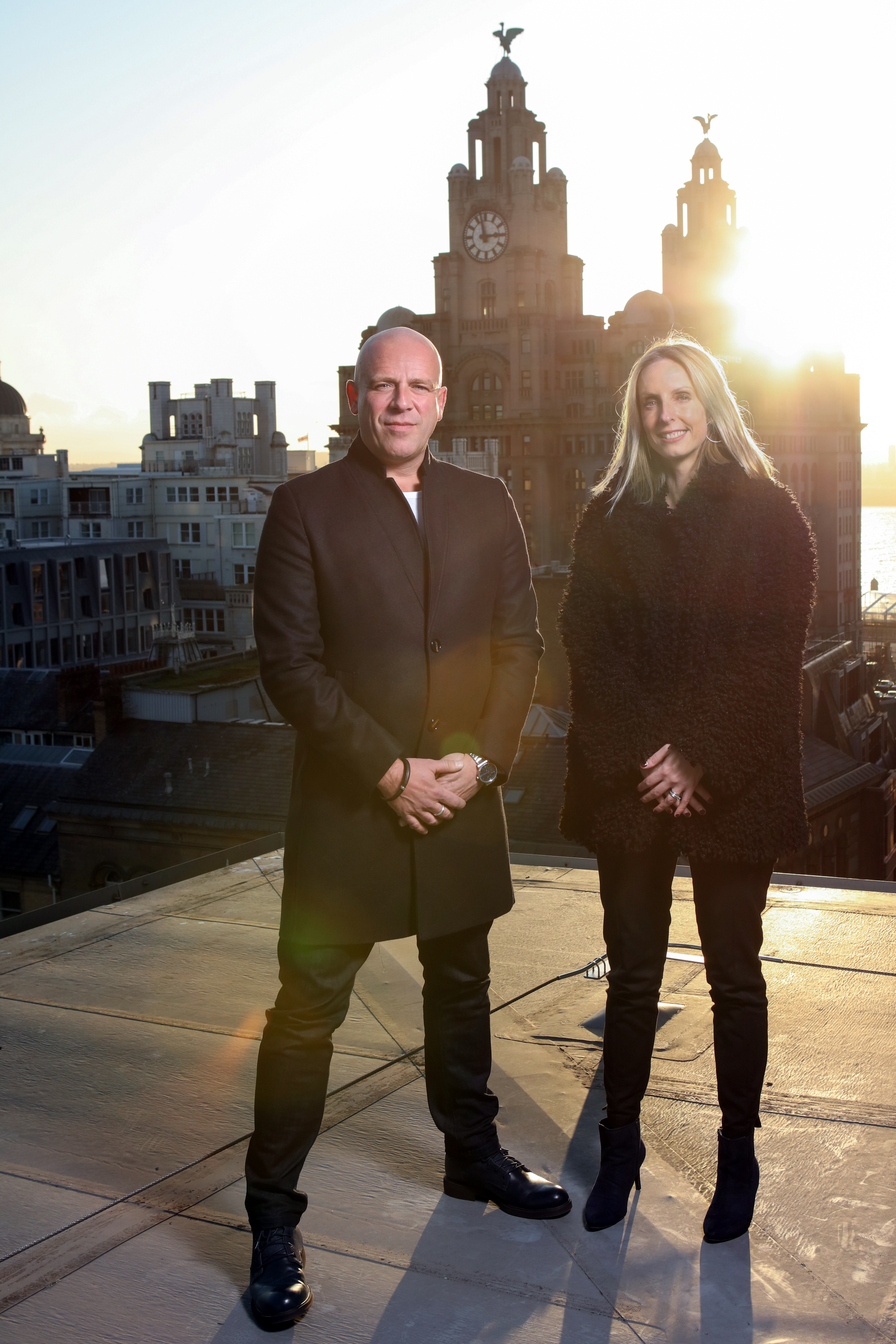 (L-R) Jack Horlock, MD of Crown Brands Live with Susan Finnegan, Head of Commercial & Marketing at Culture Liverpool