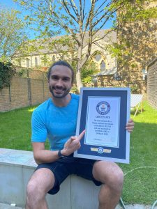 Joe Wicks - Most viewers for a fitness livestream
